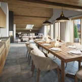 Mountain View Apartments For Sale In Combloux