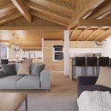Three Bedroom Ski Apartments In Bettex, Les Menuires