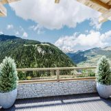 Ski-In, Ski-Out Penthouse Apartment For Sale In Chatel