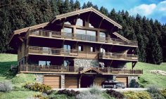 Five Bedroom Ski Chalet For sale In Chatel