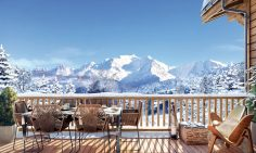 Furnished Ski Chalet For Sale In Combloux
