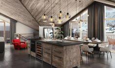 Four Bedroom Ski Apartments For Sale In Champagny En Vanoise