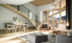 Ski Apartments For Sale in Chatel Town Centre