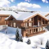 Modern Ski Apartments For Sale In Les Perrieres