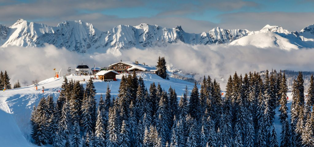 How to Buy a Ski Chalet in Less Than Six Months: Megeve Restaurant Picture