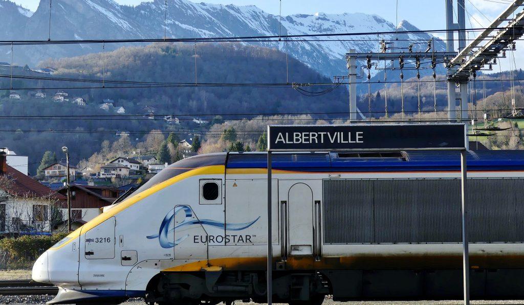 investing in ski property: train to the Alps