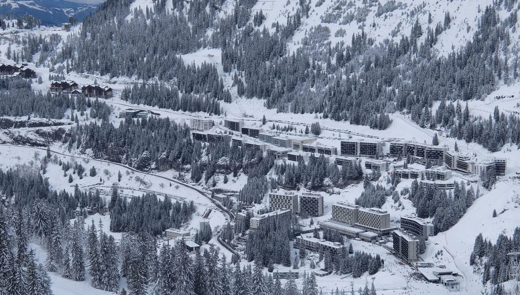 Which ski resorts are going green: Flaine