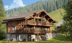 Traditional Chalet For Sale In Les Gets