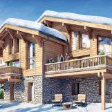 Furnished Ski Chalet For Sale In Combloux
