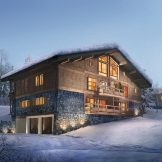 Four Bedroom Ski Apartments For Sale In Megeve, French Alps